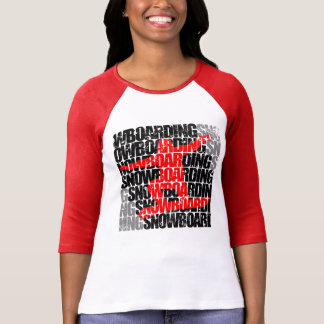 Camiseta Snowboarding #1 (preto)