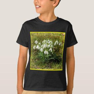 Camiseta Snowdrops 02,2 (Schneegloeckchen)