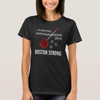 Camiseta Snowmageddon Boston