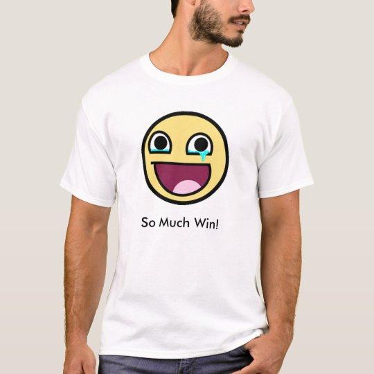 Camiseta So Much Win!