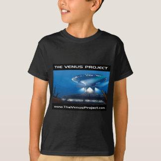 Camiseta Sob a cidade do mar