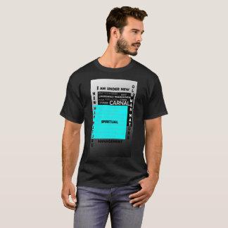 Camiseta Sob a gestão nova com o Jesus Cristo