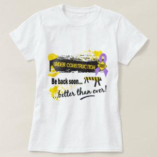 Camiseta Sob o cancer da construção