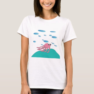 Camiseta Sob o t-shirt do mar