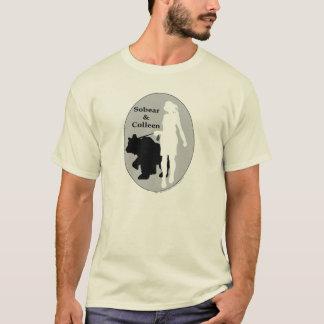 Camiseta Sobear & Colleen (sóbrio e limpo)