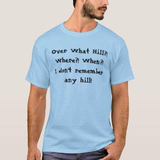 """Camiseta """"Sobre t-shirt do monte"""""""