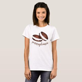 Camiseta Sobremesa de Foodie das tortas de Whoopie do Dutch