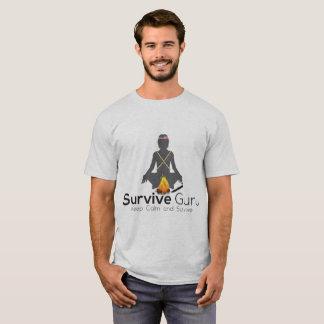 Camiseta Sobreviva Survivalist do mundo de Guru ao grande