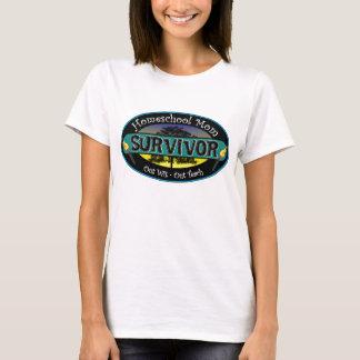 Camiseta Sobrevivente da mamã de Homeschool