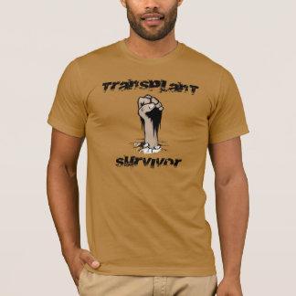 Camiseta Sobrevivente da transplantação - estilo do Grunge