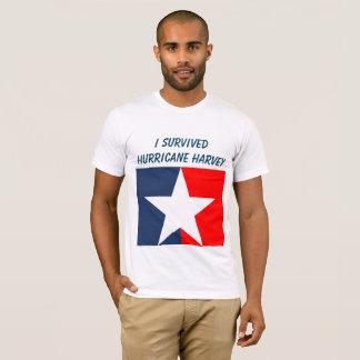 Camiseta Sobrevivente de Harvey do furacão