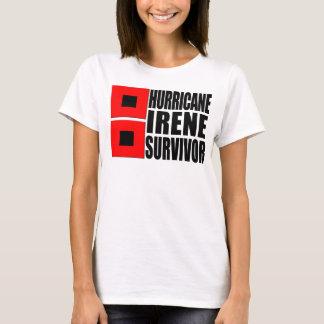 Camiseta Sobrevivente de Irene do furacão