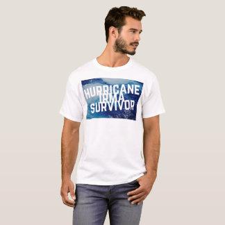 Camiseta Sobrevivente de Irma do furacão -