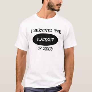 Camiseta sobrevivente do escurecimento!