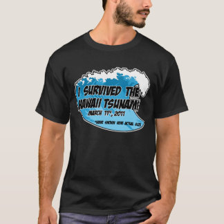 Camiseta Sobrevivente do tsunami