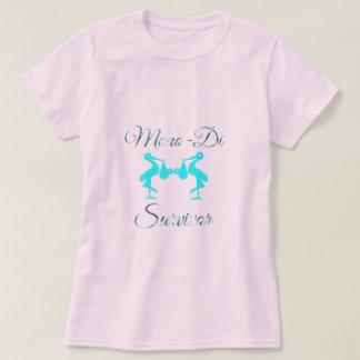Camiseta Sobrevivente/meninos da gravidez dos Mono-Di