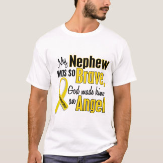 Camiseta Sobrinho do ANJO 1 do cancer da infância