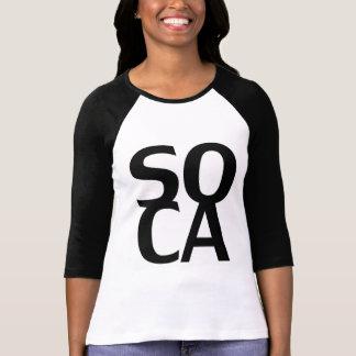Camiseta Soca ostenta o t-shirt