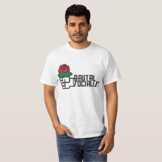 Camiseta socialista brutal do valor