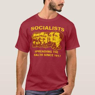 Camiseta Socialistas: Espalhando a riqueza customizável!