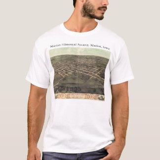 Camiseta Sociedade histórica de Marion com os 1868 mapas