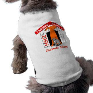 Camiseta Sociedade humana do t-shirt do cão de Cozumel