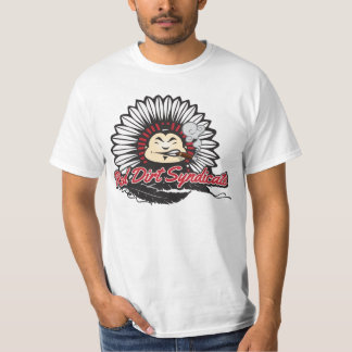 Camiseta Sociedade vermelha da sujeira