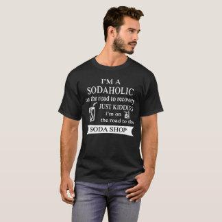 Camiseta Sodaholic na estrada à recuperação