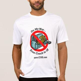 Camiseta Sofá ao micro t-shirt da fibra 5k