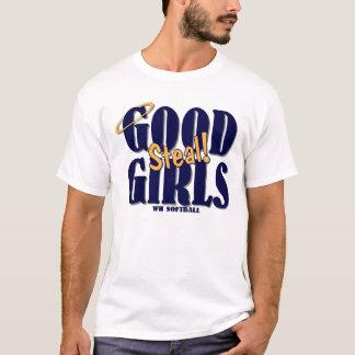 Camiseta Softball de WH - as boas meninas roubam!