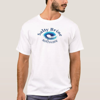 Camiseta Software salgado da salmoura - mantendo seu mundo