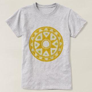 Camiseta sol amarelo popular