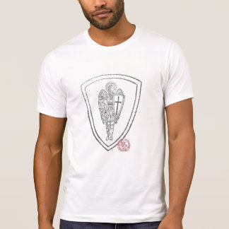 Camiseta Soldado cristão para a frente