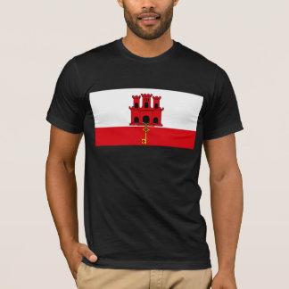 Camiseta SOLDADO da bandeira de Gibraltar