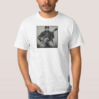 Camiseta Soldado da união com o t-shirt moderno do valor da
