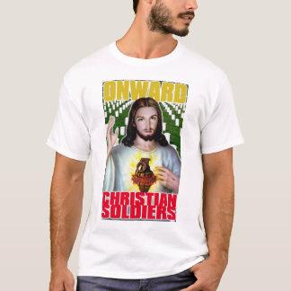 Camiseta Soldados cristãos para a frente