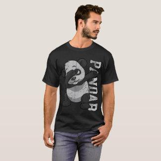 Camiseta Solha de toque ligeiro de Pandab do urso de panda