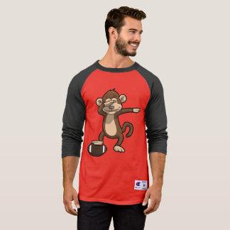 Camiseta Solha de toque ligeiro do futebol do macaco