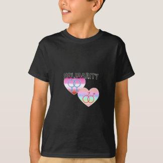 Camiseta Solidariedade alegre lésbica