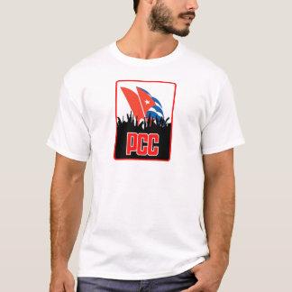 Camiseta Solidariedade com t-shirt de Cuba