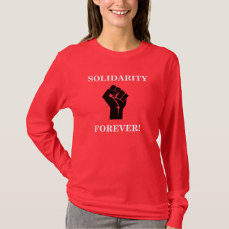 Camiseta Solidariedade para sempre