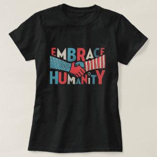 Camiseta Solidariedade patriótica do aperto de mão da