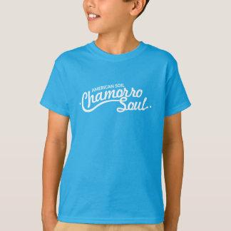 Camiseta Solo americano, o t-shirt dos miúdos da alma de