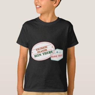 Camiseta Solomon Island feito lá isso