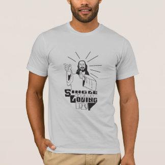 Camiseta Solteiro e amor dele
