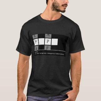 Camiseta Solução final das palavras cruzadas