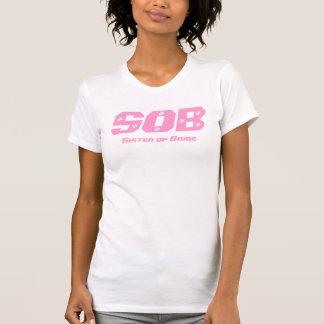 Camiseta SOLUÇO, irmã do t-shirt de Las Vegas da noiva
