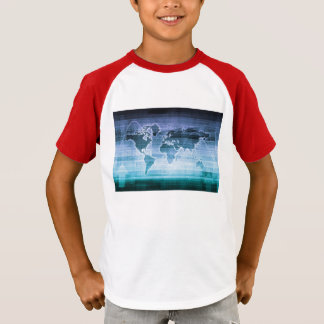 Camiseta Soluções globais da tecnologia no Internet