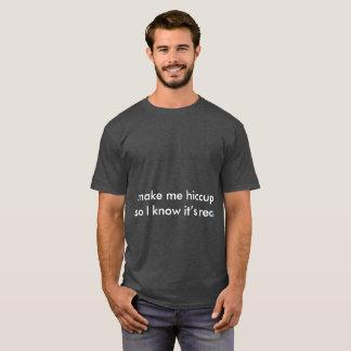 Camiseta soluços