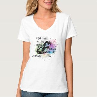 Camiseta Som bom a voz do T sadio da sereia